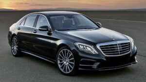 Luxury Mercedes S-Class Bellagio taxi